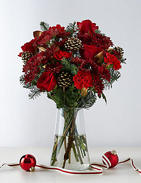 Large December Flower Bouquet