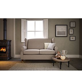 Highland Plain Compact Sofa