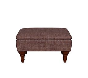 Highland Plain Storage Footstool