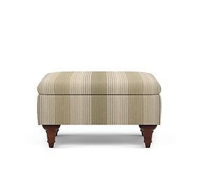 Highland Plain Footstool