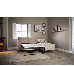Copenhagen Corner Chaise Storage Sofa Bed (Right-Hand)
