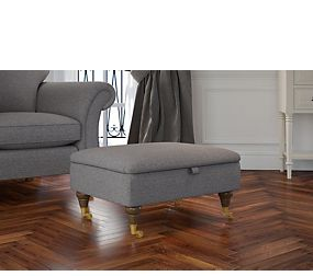 Salisbury Small Storage Footstool