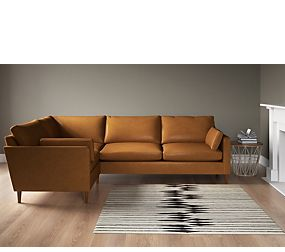 Hendrix Small Corner Sofa (Left- Hand)