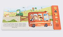 Wheels on the bus baby book