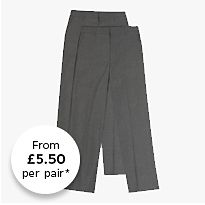 M&S school trousers