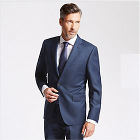 Man wearing work suit