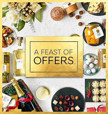 Discounts on hampers, flowers, food & wine