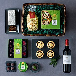 Gluten-free Christmas hampers