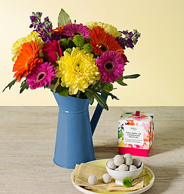 Free chocolates with Mother's Day flowers