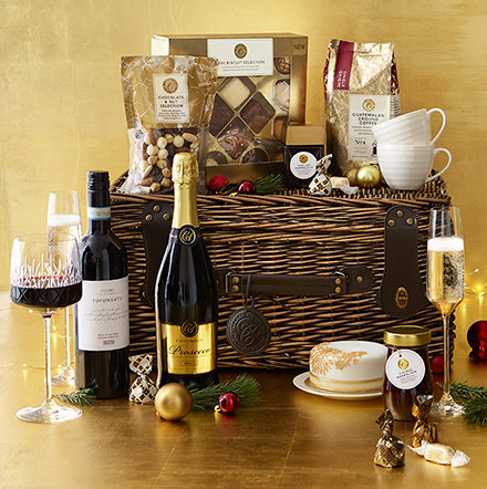Food and wine Christmas gifts