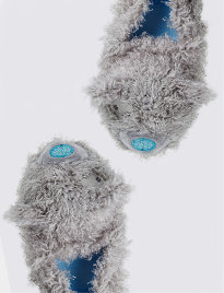 Kids' fluffy slippers