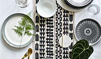 Table set with crockery