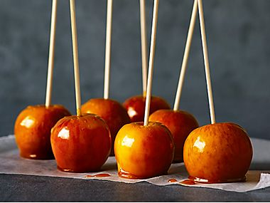 Sticky Toffee Apples recipe