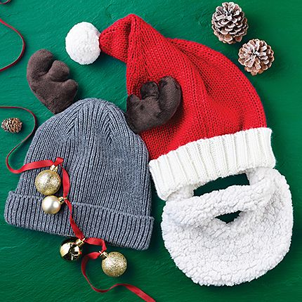 Mens novelty woolly hats