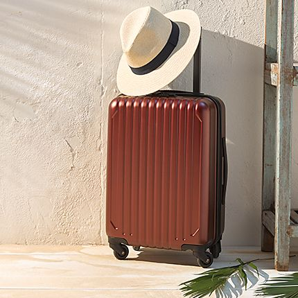Holiday suitcases & wheelie bags