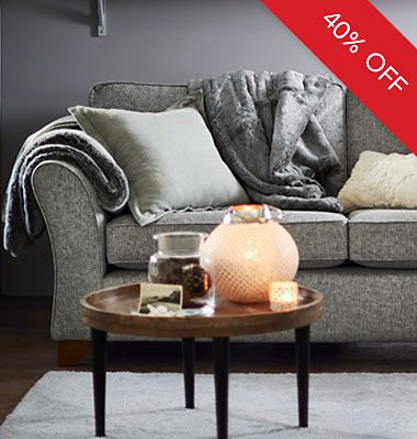 40% off Abbey & Berkeley sofas