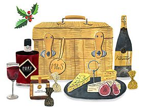 Best foodie gifts and christmas-hampers