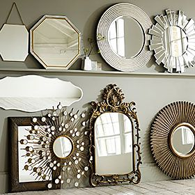 An M&S wall mirrors