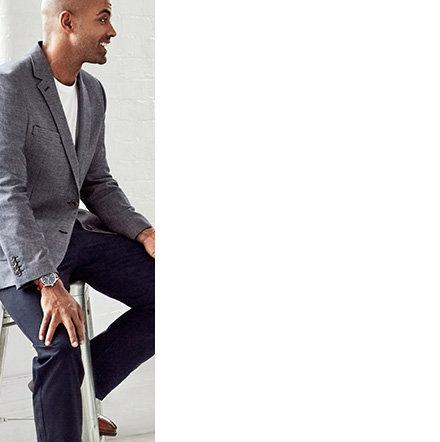 Pierre Cardin Performance Navy Twill Regular Fit Suit