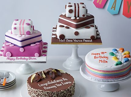Birthday & personalised cakes