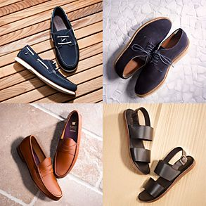 Four pairs of men's shoes for summer