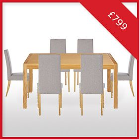 Dining Table & Chairs for £799