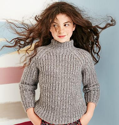 Girls' knitwear
