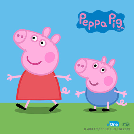 Cartoon disney characters kids baby clothes ms peppa pig and her brother george voltagebd Image collections