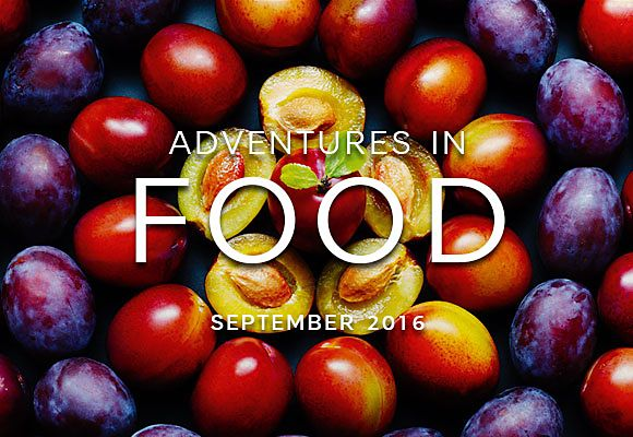 September's seasonal selections from Adventures in Food