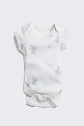 Cotton baby bodysuits