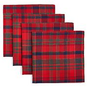 Red checked napkins