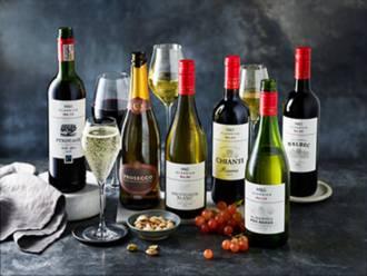 Bottles of Classics wines