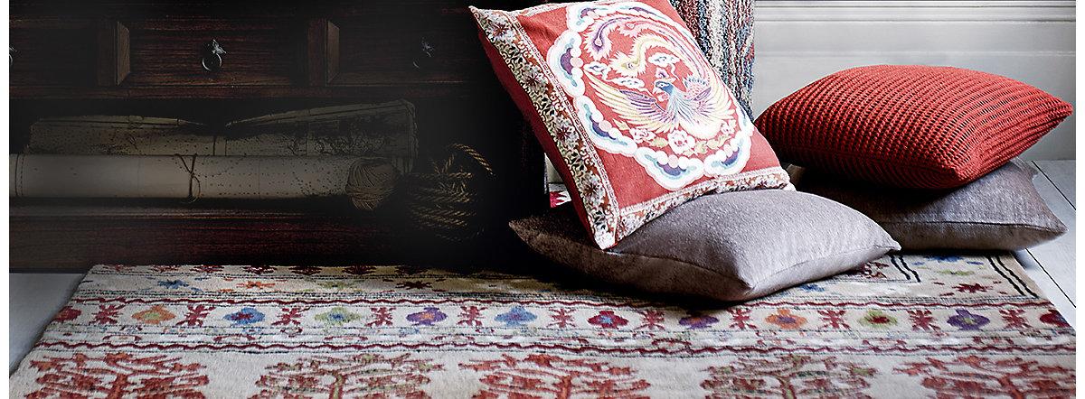 Handmade Wool Kilim Jute Rugs