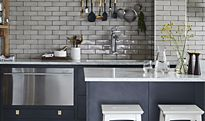 Metro tiles kitchen