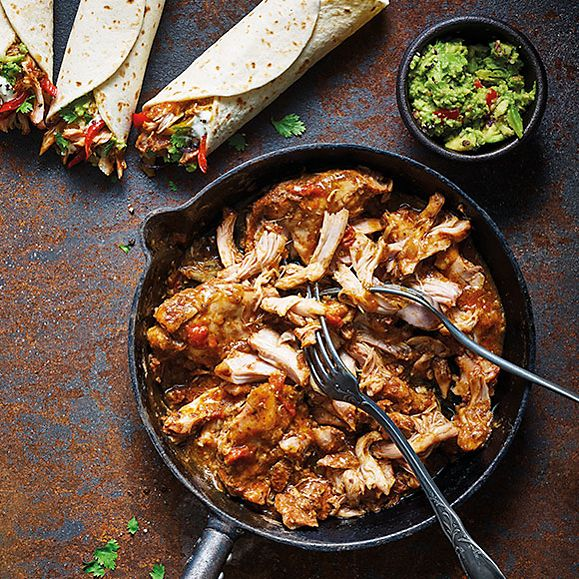 Mexican-style pulled chicken