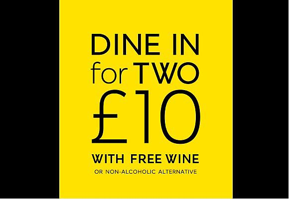Dine in for £10 is now on