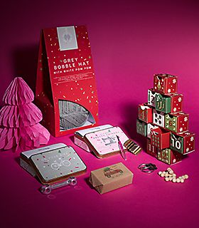 Collection of stocking filler gift ideas