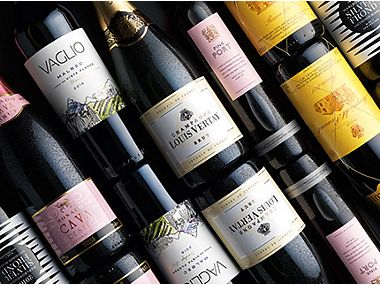 Award-winning wines