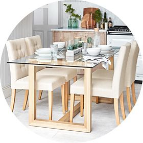 Statement dining room furniture