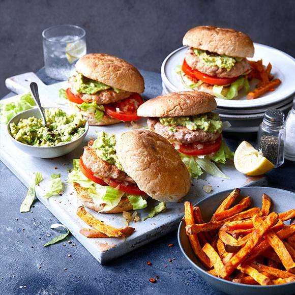 Top-notch turkey burgers
