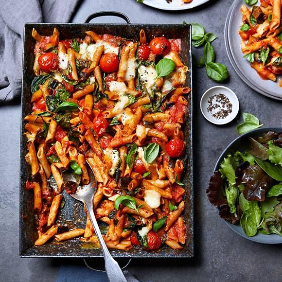 The very veggie pasta bake