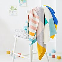 Baby blankets and shawls