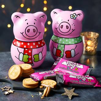 Percy and Penny biscuit tin