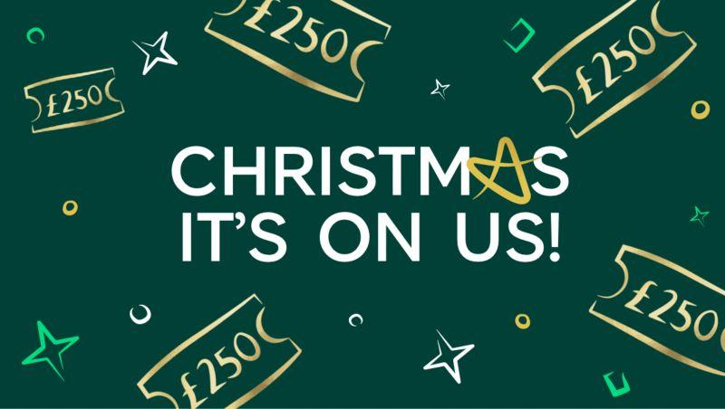 Christmas is on us!