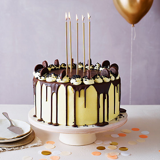 Cool The Amazing Cookies And Cream Dribble Layer Cake Funny Birthday Cards Online Hendilapandamsfinfo