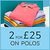 Two polos for £25