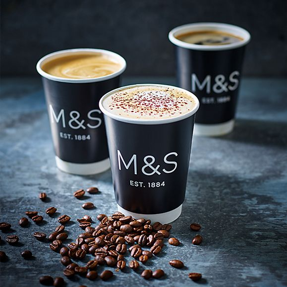 A selection of takeaway coffees