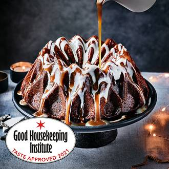 Sticky toffee pudding crown