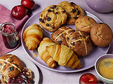A selection of Made Without wheat pastries