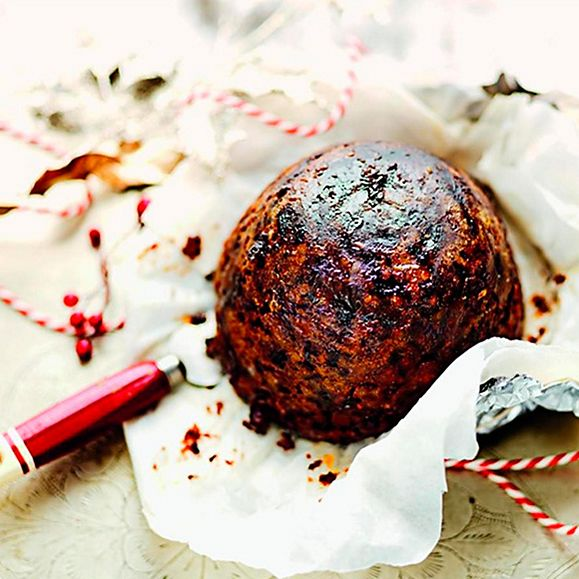 M&S Christmas pudding